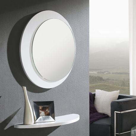 Oculus todo lo que tu recibidor necesita for Espejo redondo pequeno