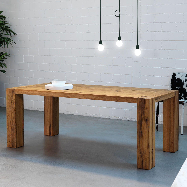 mesa base de oliver b - Mesa De Madera Rustica