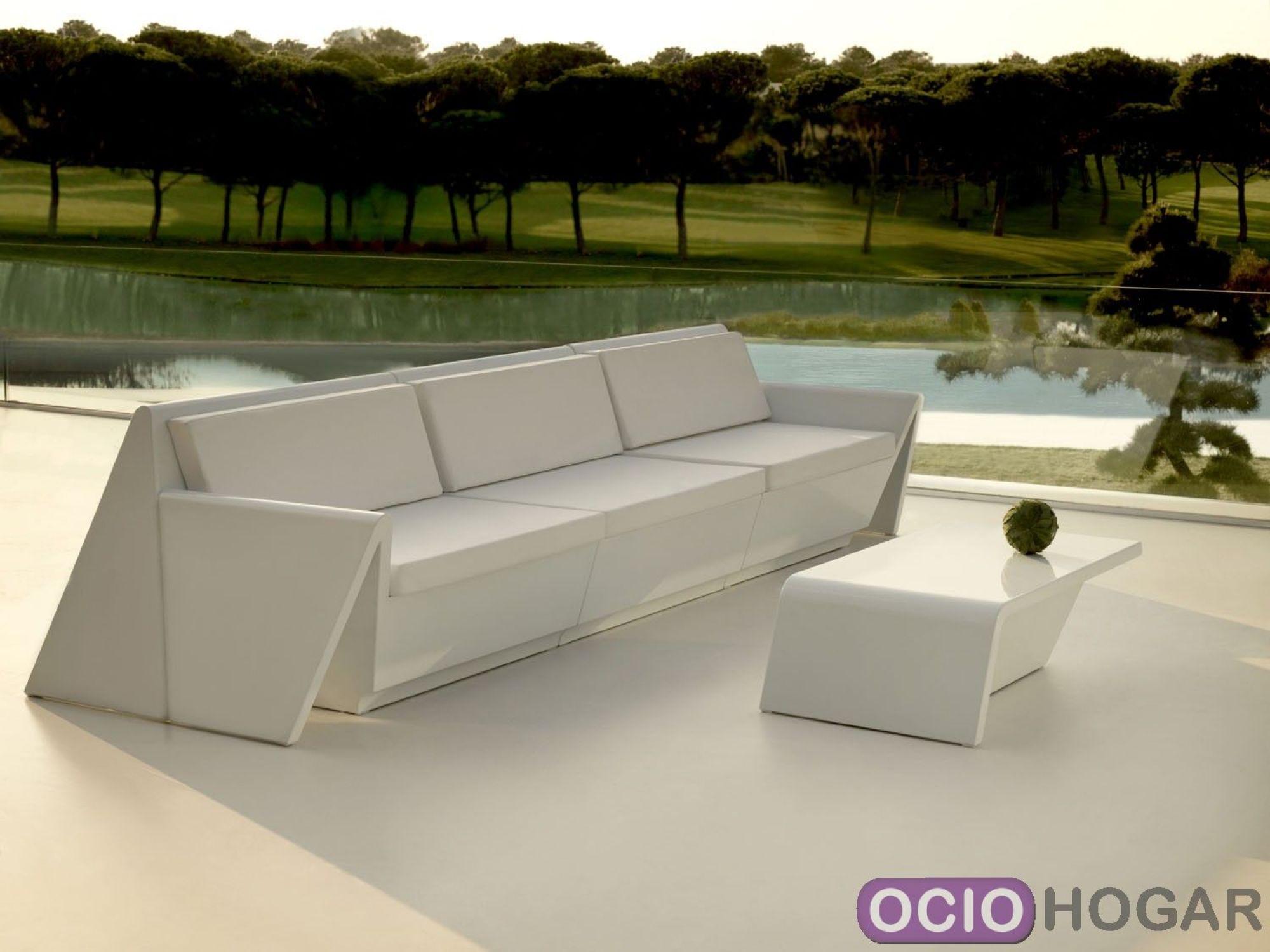 Comprar sof modular rest de vondom for Sofa plastico exterior