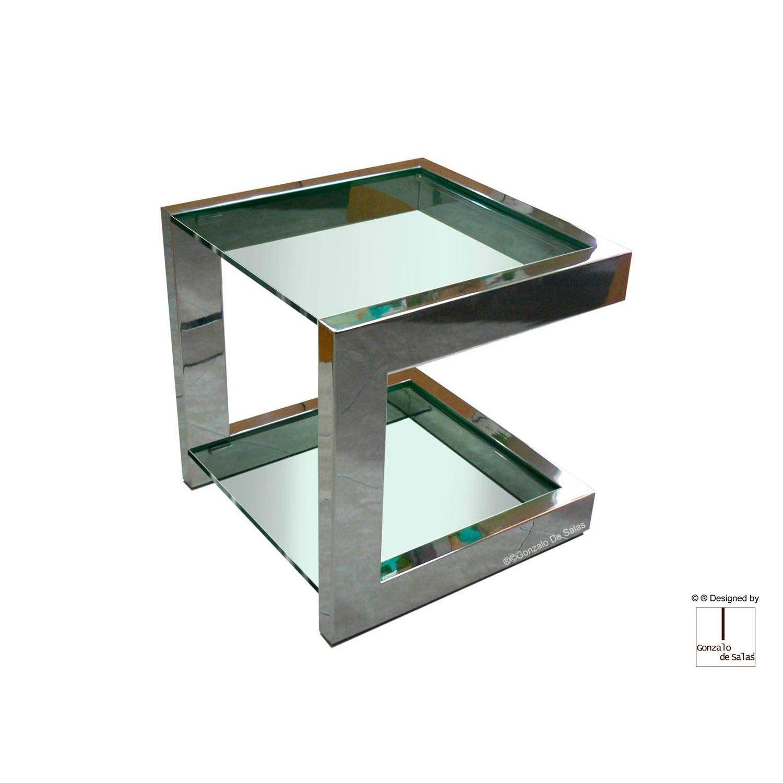Comprar mesa auxiliar alto dise o lisa de gonzalo de salas for Mesas auxiliares de diseno