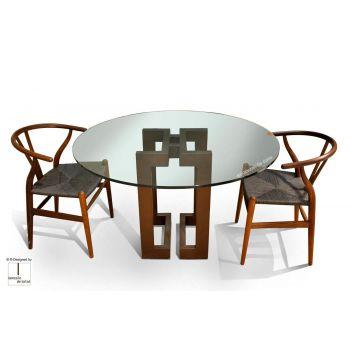 Mesa de comedor SENDAI  Circular