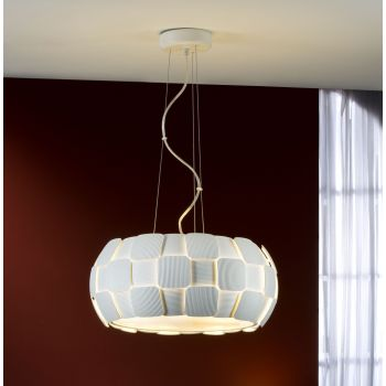 Lámpara colgante Quios 5L, iluminación para momentos de tranquilidad