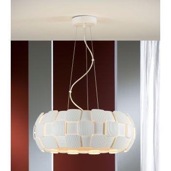 Quios 6L, una lámpara con seis bombillas, una luz potente para ambientar el comedor