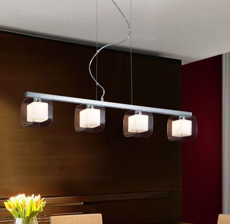 Lámpara Cube 4L, para los amantes del cubismo