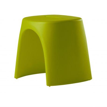 Taburete Amélie de Slide color Lime Green