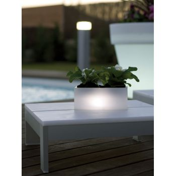 Jardinera con luz Nano LEDs