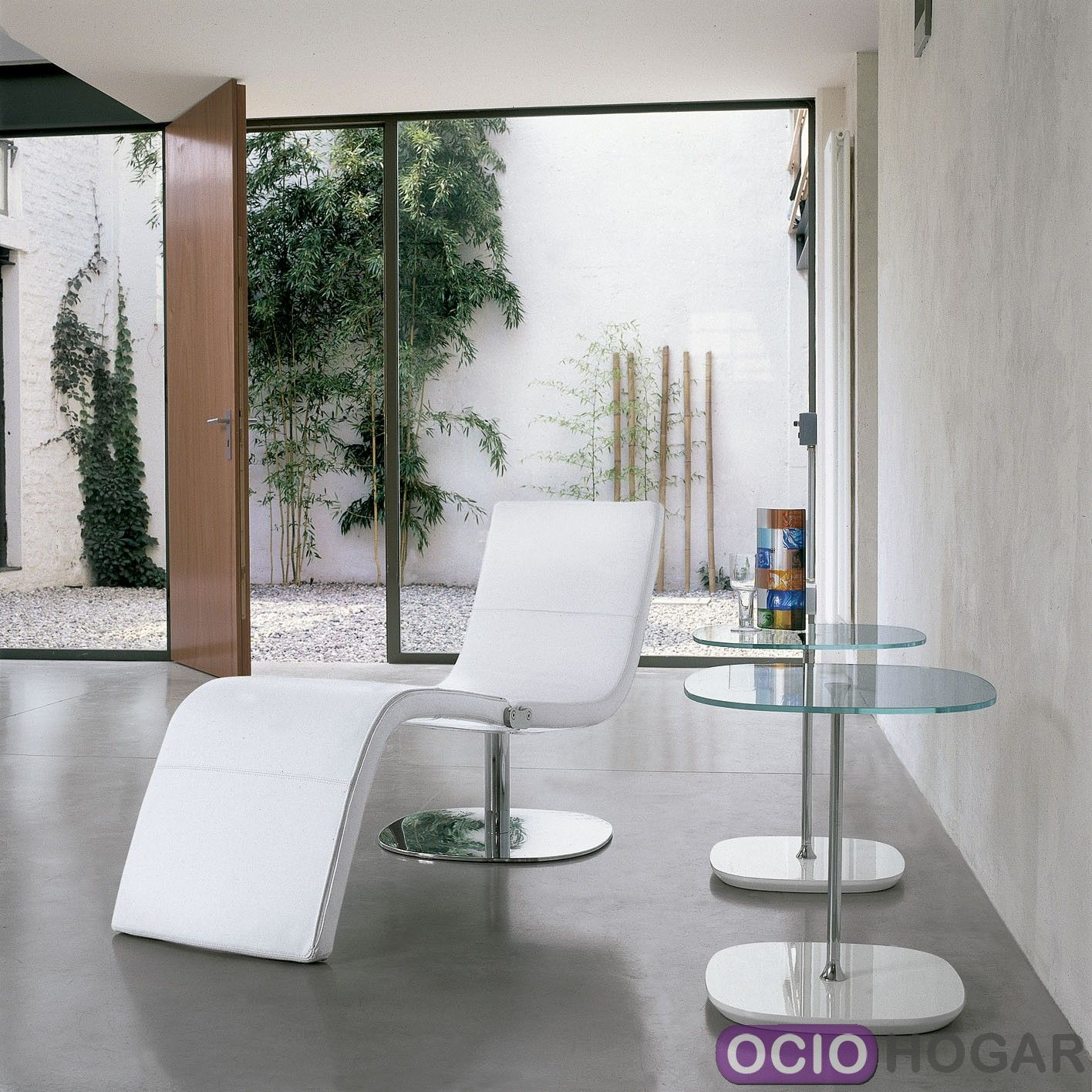 Comprar butaca chaise longue dragonfly de bonaldo piel - Butaca chaise longue ...