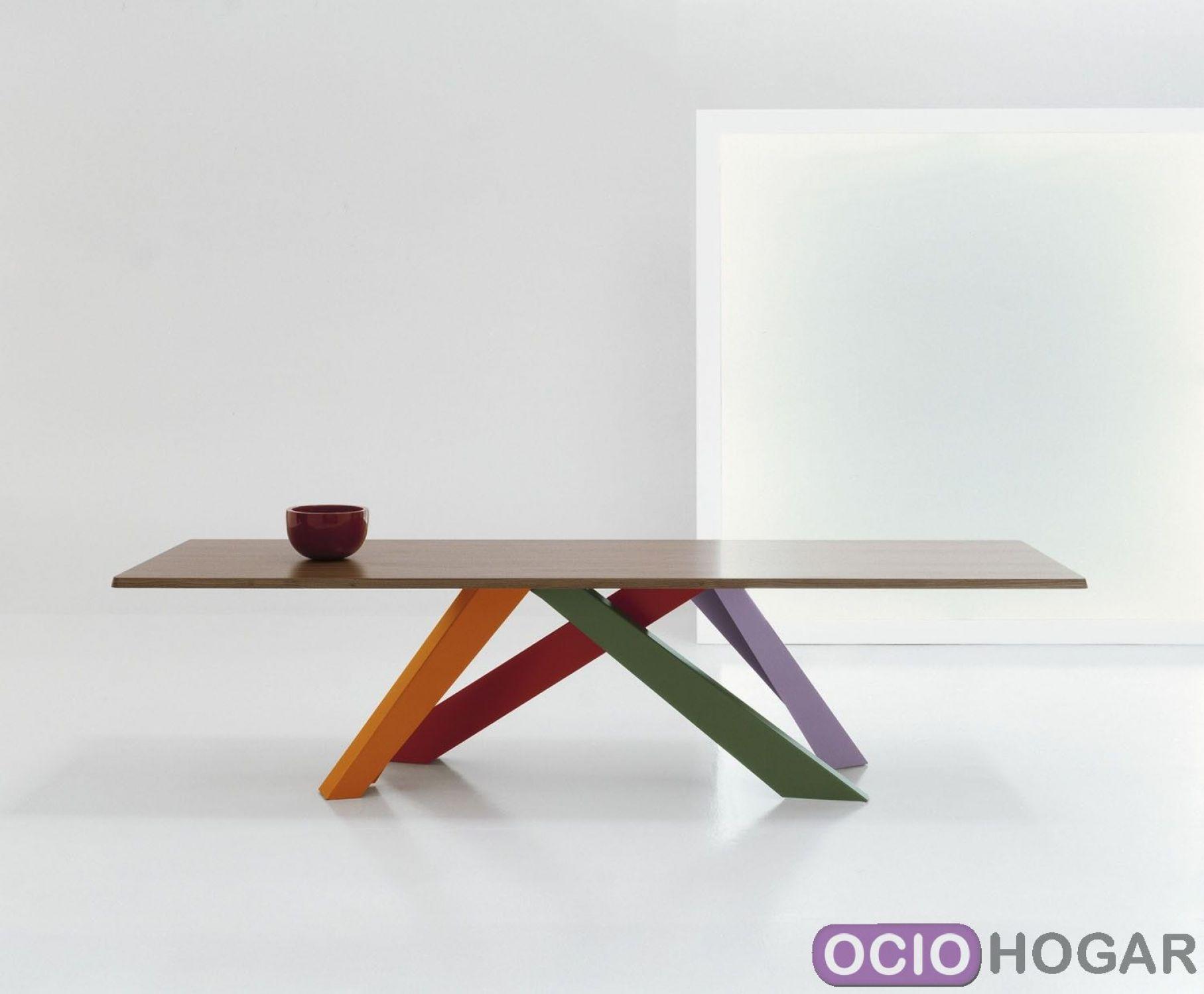 Mesas de comedor - Cristal, madera, extensibles - OcioHogar.com