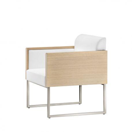 Sillón de diseño Box Lounge. Pedrali.