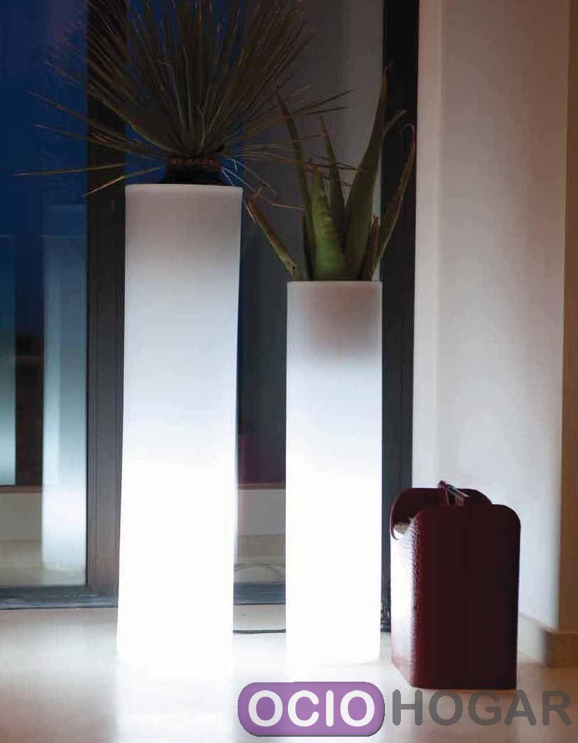 Maceta con luz torre de vondom - Macetas con luz ...
