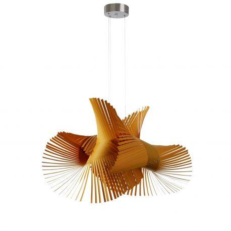 Lámpara Minimikado Luzifer LZF amarilla