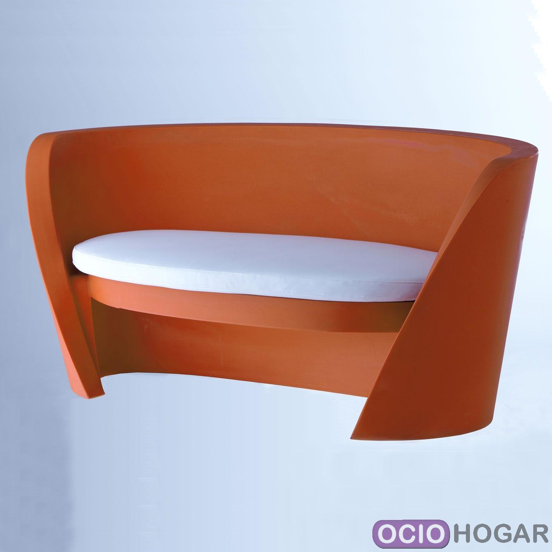 Sof de exterior rap slide design for Sofa plastico exterior