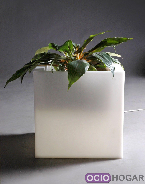 Maceta con luz q pot slide design - Macetas con luz ...