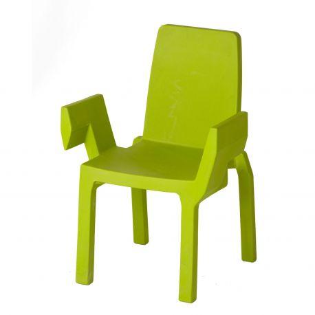 Silla Doublix SLIDE Design verde