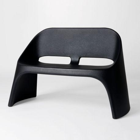 Sofá Amélie Duetto SLIDE Design negro