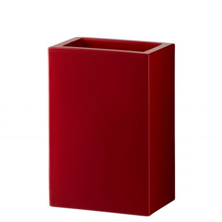 Maceta Base Slide Design en rojo