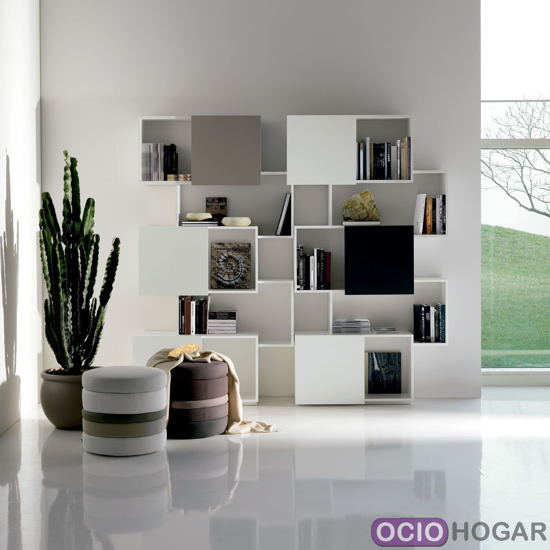 Librería de diseño Piquant Cattelan Italia   OcioHogar.com