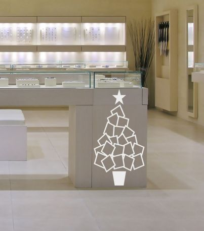 Vinilo árbol de navidad Papertree 3 Dekotipo