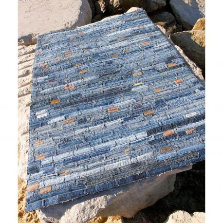 Alfombra moderna Jeans Belt Carving