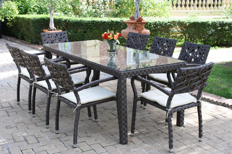 Mesas patio conjunto mesa y sillas de jardn salamanca for Sillas terraza jardin
