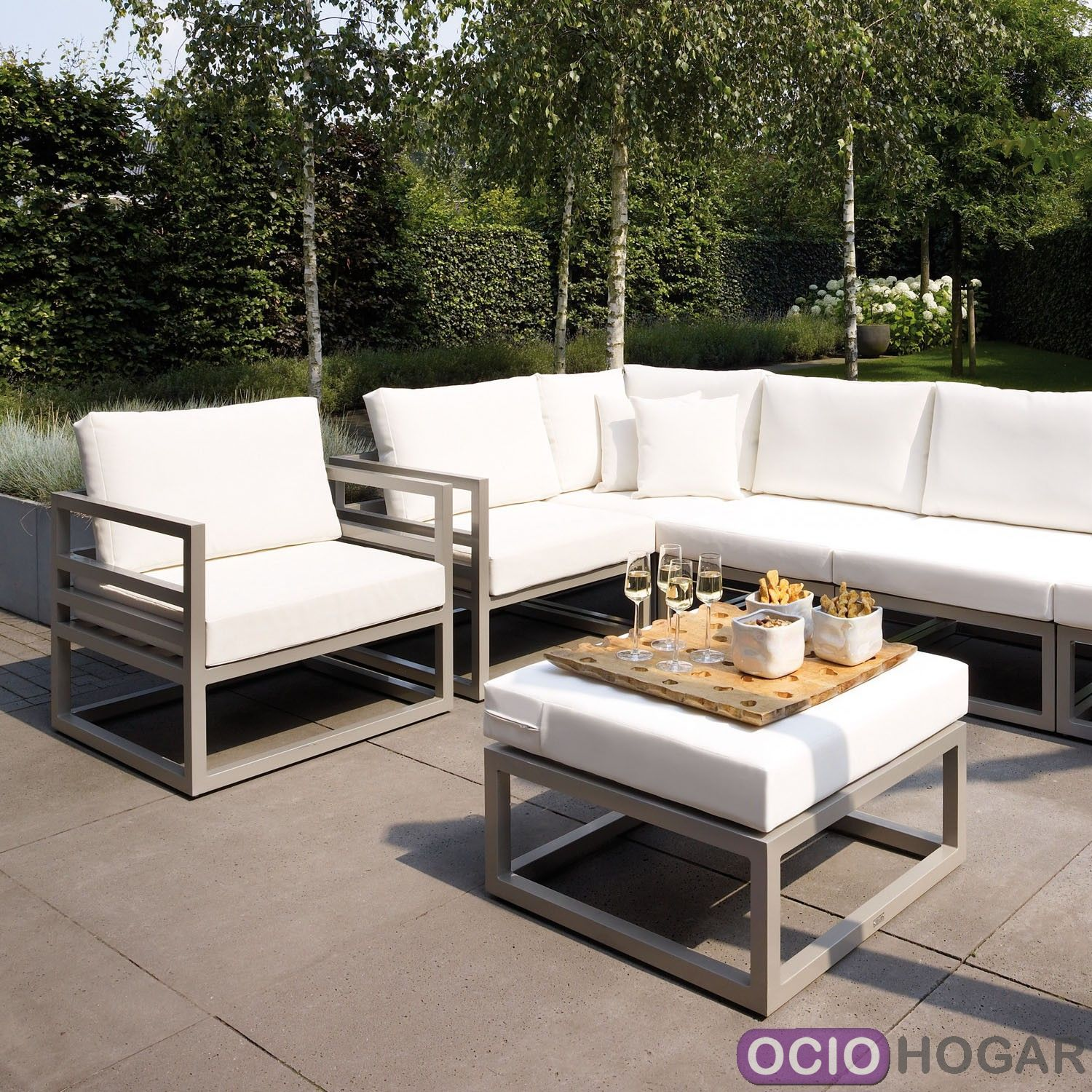 Sofas jardin stunning collection big enuf jdv with sofas for Sofa rinconera exterior