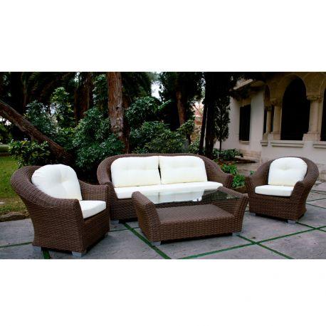 Sof sillones y mesa de jard n m dena majestic garden for Sillones de terraza baratos