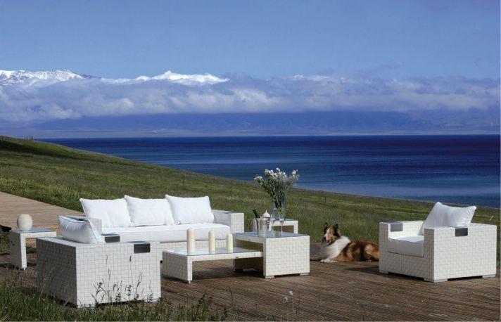 Conjunto de sofás y sillones de exterior Tatta