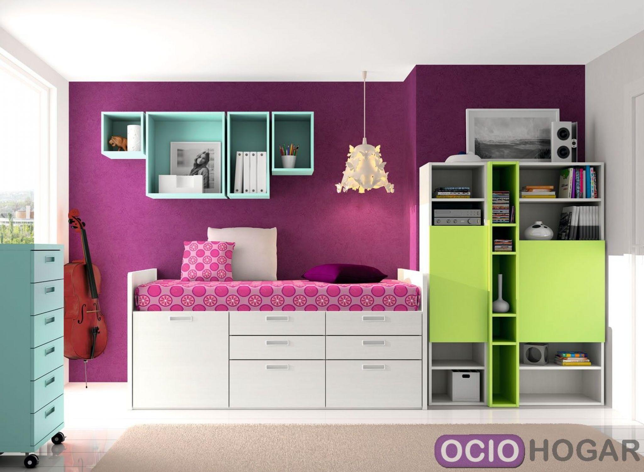 Dormitorio juvenil spacios de dissery muebles modernos for Muebles juveniles modernos