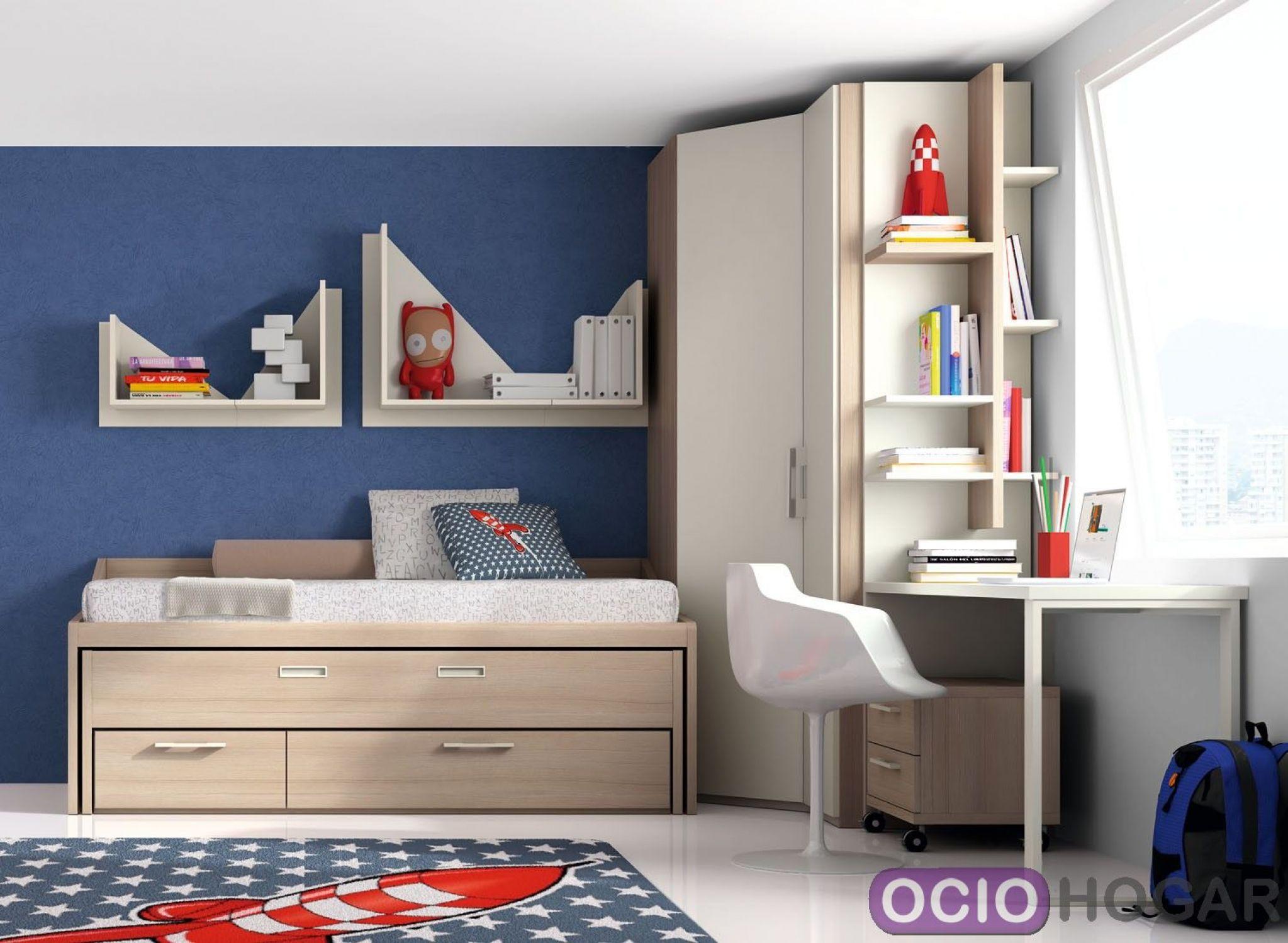 dormitorio juvenil monza de dissery muebles infantiles