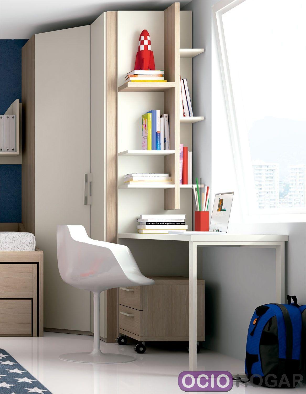Dormitorio juvenil Monza de Dissery-Muebles infantiles- Ociohogar.com