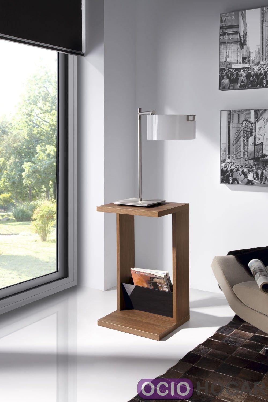 Mesa auxiliar g nova de dissery muebles de dise o for Mesas plegables salon diseno