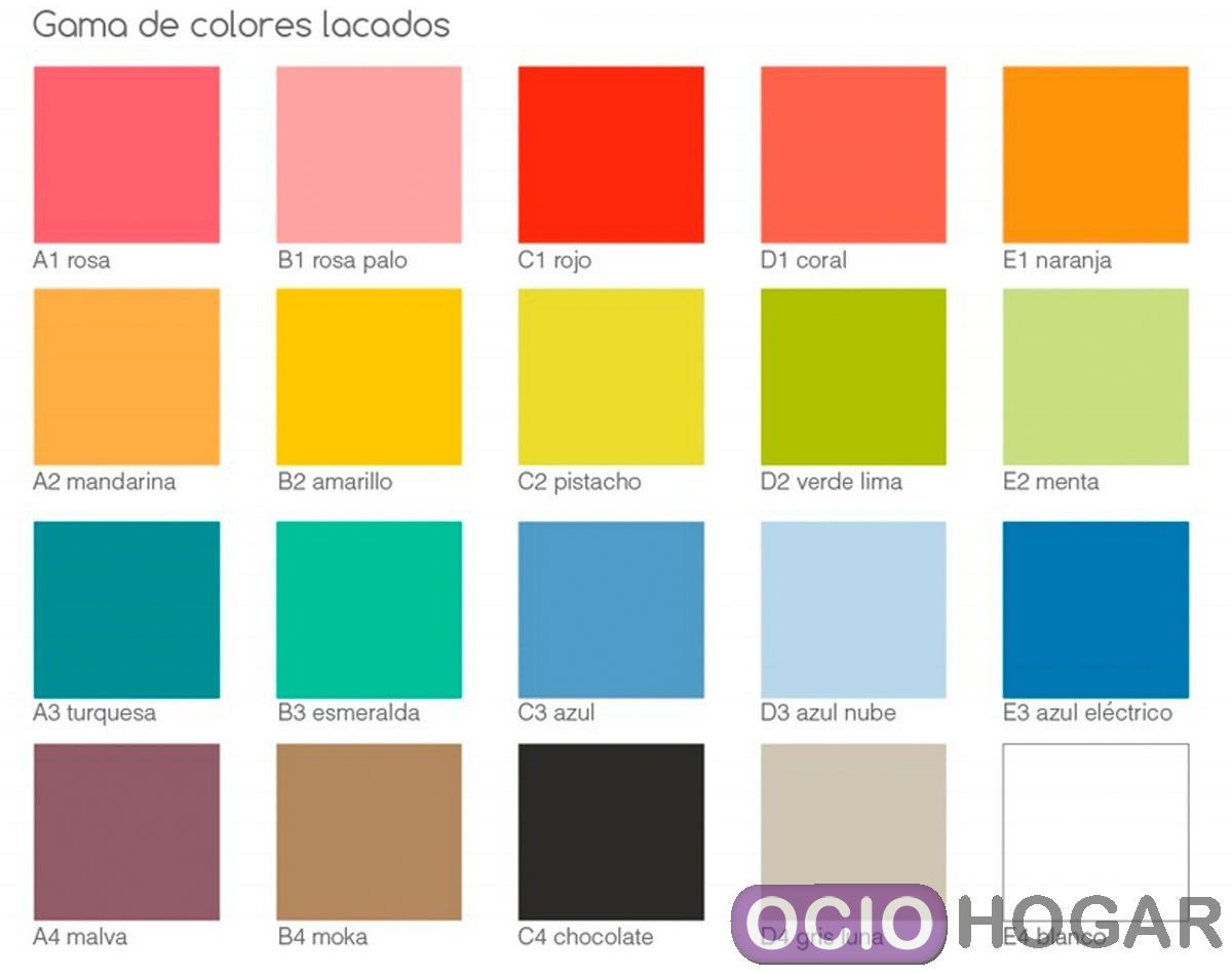Estante trazos de moti baldas infantiles for Paleta de colores pared
