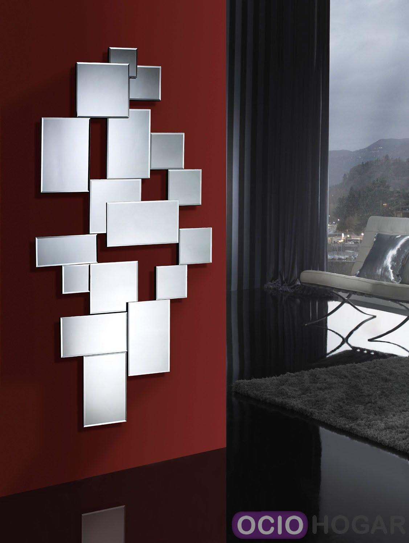 Espejo city de schuller for Espejos modernos cristal