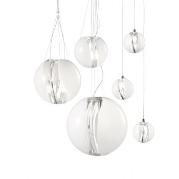 Lámpara de techo Poc de Vistosi. Detalle