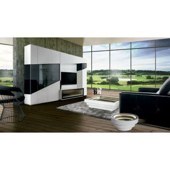 Mueble de TV Teknicaa, un completo salón