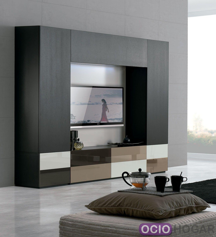 Mueble de tv temaa de clara home for Muebles salon tv modernos