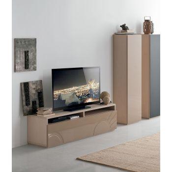 Megaa, un mueble de TV sencillo pero completo